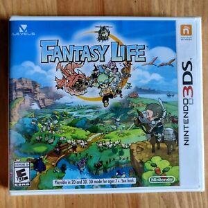 FANTASY LIFE Level 5 Nintendo 3DS NEW and SEALED