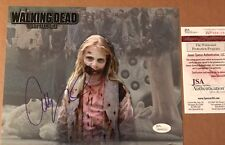 "Addy Miller The Walking Dead ""Teddy Bear Girl"" Signed 8x10 Photo 4 JSA WPP"