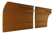 MERCEDES W115 200 230 230.4 230.6 220D INTERIOR DOOR PANEL TOBACCO 4 PCS PAIR