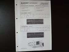 Original Service Manual Blaupunkt Autoradio Frankfurt SQM 26 Cambridge SQM 26
