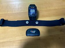 Polar M400 Fitness Watch With Heart Rate monitor (Black/Red, used, no scratches)