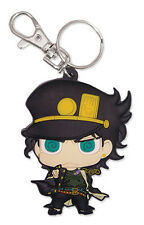 **Legit** JoJo's Bizarre Advanture Authentic PVC Keychain SD Kujo Jotaro #85235