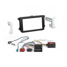 VW Jetta, Passat, Polo, autoradio doble DIN kit de integracion radio diafragma + bus CAN