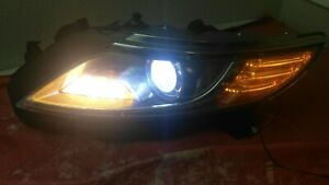 2013-2016 LINCOLN MKS  DRIVER LEFT HID HEADLIGHT W. AFS ADAPTIVE  COMPLETE