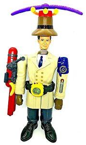 "Inspector Gadget 1999 Disney McDonalds Promotion 14"" action Figure Complete"