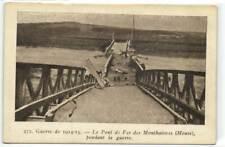 1 CPA 55 Meuse Monthairons Le Pont De Fer De Monthairous  pcframix2227