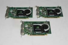 LOT OF 3 NVIDIA Quadro FX 1700 PCI Graphics Card 454317-001 / 456135-001