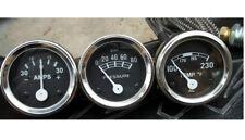 Ford 2N, 8N, 9N, NAA, 601, 70,801,901,2000,4000 Gauge Kit - Temp, Oil Pr, Ampere