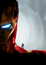 Ant Man and Iron Man B A1 High Quality Canvas Art Print
