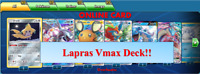 Lapras Vmax Deck Sword & Shield Pokemon TCG Online Card PTCGO Standard Format