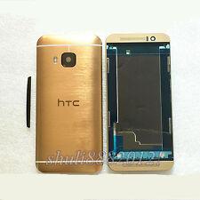 for HTC One M9 original back cover full housing Camera Lens Side Button frame