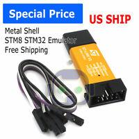 ST-Link V2 Mini Metal Shell STM8 STM32 Emulator Downloader Programming Unit M267