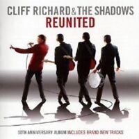 """CLIFF RICHARD & THE SHADOWS """"REUNITED"""" CD 50TH ANN. NEW!"""