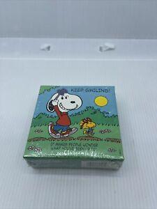 "Snoopy Woodstock Keep Smiling Springbok Mini Jigsaw 7"" Puzzle Hallmark Peanuts"