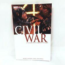 Civil War Graphic Novel Marvel Comics