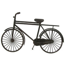 Rustic Antique Black Bicycle Metal Wall Decor Modern Industrial Home Decor