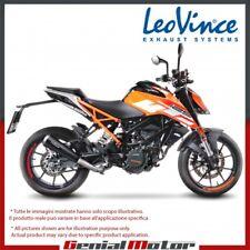 KTM DUKE 125 2018 18 LEOVINCE AUSPUFF ENDSCHALLDAMPFER GP ONE EDELSTAHL 15116