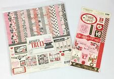 12 x 12 Echo Park Love Yours Truly Scrapbook Paper Kit & Embellishments
