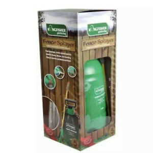 5L Kingfisher/Ronseal Pressure Pump SPrayer Gun Shed & Fence Garden Wood Paint