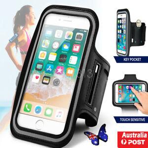 Sports Running Jogging Gym Exercise Armband Case Phone Holder Bag Cover AU