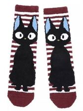 Studio Ghibli Kiki's Delivery Service Jiji Striped Cozy Socks Size 5-10 NWT!