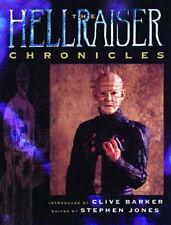 Hellraiser Chronicles, Clive Barker, Stephen Jones, Peter Atkins, Very Good Book