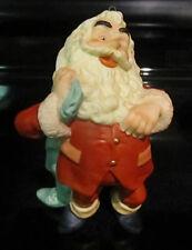 1987 Hallmark Cards Fine Porcelain Santa Claus Figurine Christmas Ornament