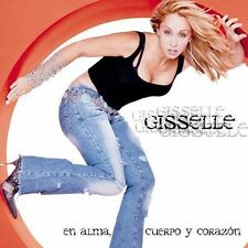 En Alma, Cuerpo y Corazon by Gisselle. CD (2002, BMG US Latin) DISC ONLY #52