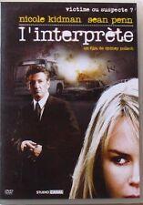 DVD L'INTERPRETE - Nicole KIDMAN / Sean PENN / Catherine KEENER - Sydney POLLACK
