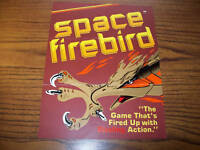 1980 GREMLIN SEGA SPACE FIREBIRD ORIGINAL VIDEO ARCADE GAME SALES FLYER