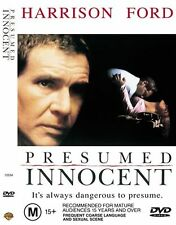 Presumed Innocent (1990) Harrison Ford - NEW DVD - Region 4 New and Sealed