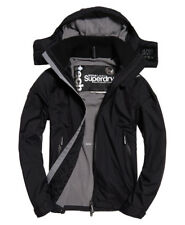 New Mens Superdry Arctic Hooded Cliff Hiker Jacket Black