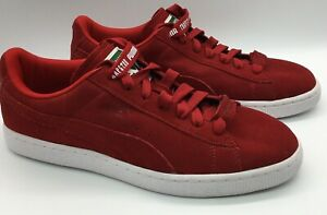 Puma Red Suede Trapstar Casual Shoes Sneakers Mens Size 7.5