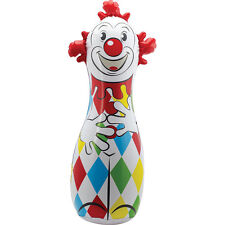 "Schylling 42"" CLOWN BOP BAG Punch Inflatable Blow Up Boxing Punching Classic NEW"