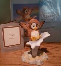Franklin Mint Owl (Yikes!)