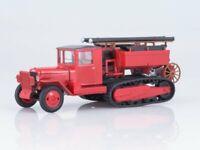Scale model fire truck 1:43 ZIS-42 AC-MMPO