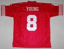 STEVE YOUNG SAN FRANCISCO 49ERS REEBOK SEWN THROWBACK JERSEY 2XL - NFL