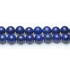Lapis Lazuli Round Beads 10mm Blue 38+ Pcs Dyed  Gemstones DIY Jewellery Making
