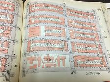1929 PARK SLOPE GOWANUS METHODIST EPISCOPAL  HOSPITAL BROOKLYN NY ATLAS MAP