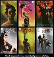 Dark Tower: Treachery 1 2 3 4 5 6 Marvel 2008 Complete Set Run Lot 1-6 VF/NM