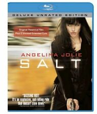 Salt (Blu-ray Disc, WS, 2010, Unrated; Deluxe Edition) Angelina Jolie NEW