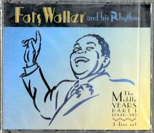 FATS WALLER AND HIS RHYTHM - THE MIDDLE YEARS PART.1 - 3CD NUOVO RARO NEW SEALED