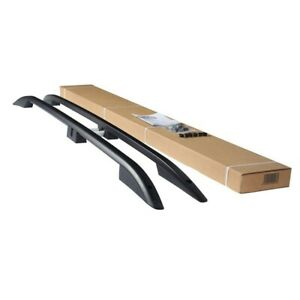 Crown Rail Bar Roof Rack Black for Suzuki Grand Vitara (JT) Suv 2005-2014