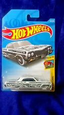 Hot Wheels '64 Impala HW Art Cars #5/10 White Die-Cast 1:64 Scale New Release