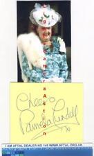 Pamela Cundell vintage signed card, Mrs Fox Dad's Army AFTAL #145
