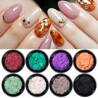 Nagel Glitzern Pailletten Flocken Nail Flakies Sequins Nail Art 3D Dekoration