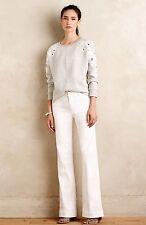 NWT Level 99 Wide Leg Chino Pants Size 31 White