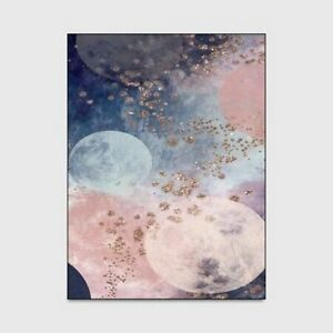 Abstract Pink & Gray Marble Carpet Living Room Area Non-Slip Floor Mat Accessory