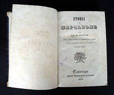 NORVINS Jacques Marquet de, Storia di Napoleone