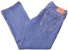 LEVI'S Mens 517 Jeans W40 L30 Blue Cotton Bootcut  JH03